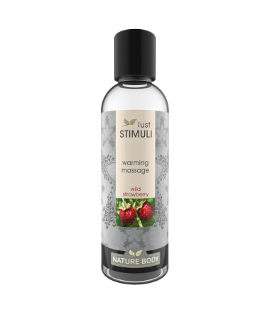 Lust Stimuli Wild strawberry Värmande Massage 100 ml