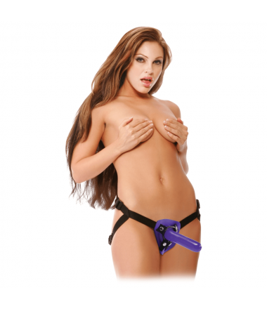 First Timer's Lila Strap-on...